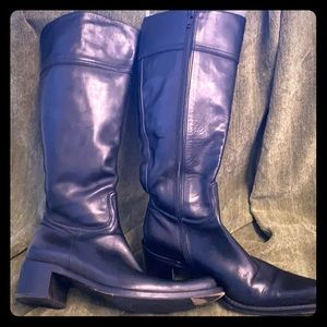 Vintage Coach Olivia riding boots leather lining-6